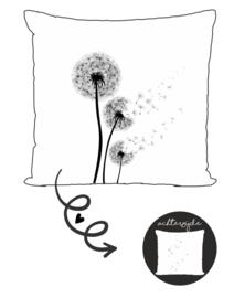 Buitenkussen | Paardebloem blaasbloem