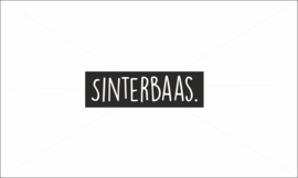 Sinterbaas strijkapplicatie
