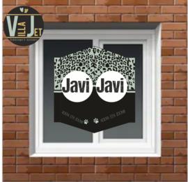 Raambord geboorte | Panterprint Javi