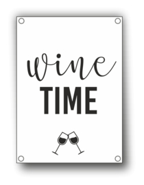 Tuin Poster | wine time|  50x70 cm