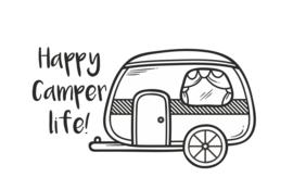 Camping   Happy camper life
