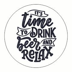 Muurdots |  Time to drink beer