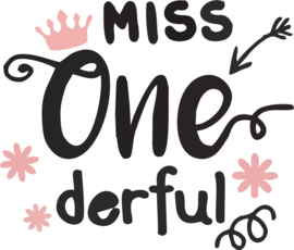 miss one derful