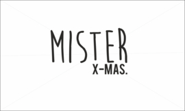 Mister Xmas strijkapplicatie