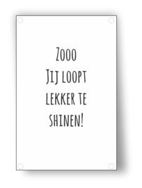 Tuin Poster | Shinen|  50x70 cm