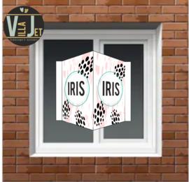 Raambord geboorte |  Iris