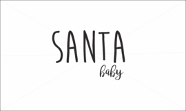 Santa strijkapplicatie