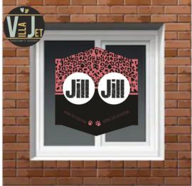 Raambord geboorte | Panterprint Jill