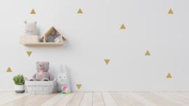 Muurstickerset driehoekjes