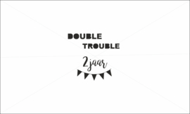 Double trouble verjaardag applicatie