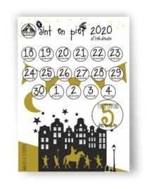 Aftelkalender papier A4 formaat