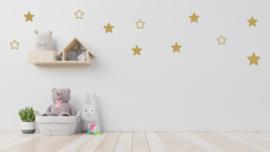 Muurstickerset sterren