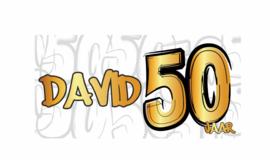 Verjaardags banner | 50 jaar!