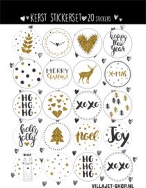 Kado sticker |  Kerst 2019