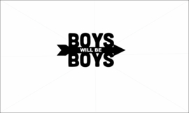 Boys wil be boys