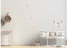 Stickers set   vlinders muursticker