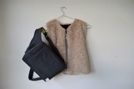combi-pakket tasje & vestje voor sondevoeding incl. iem& pomp-fleshouder