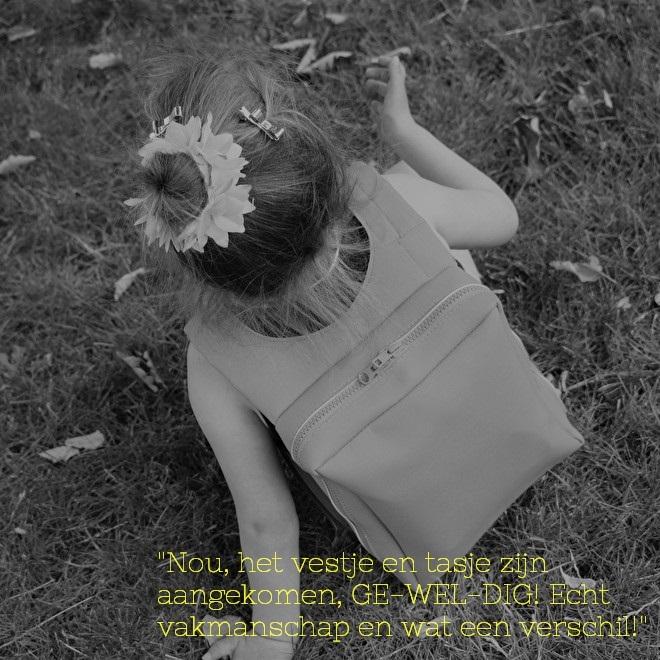 hippe, kleine sondevoedingtasjes, klein tasje voor sondevoeding, iem&, vrij spelen, vrij bewegen met sondevoeding