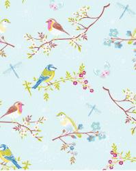 Eijffinger Pip Studio IIII behang 375081 Early Bird Light Blue