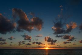 XXL wallpaper zon kust de zee DD100020