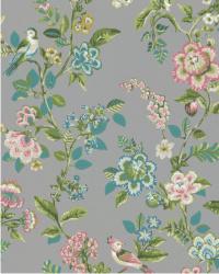 Eijffinger Pip Studio IIII behang 375065 Botanical Print Grey