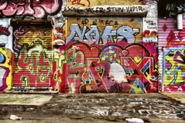 @Walls fotobehang straat graffiti 0321