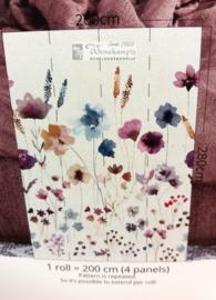 Colorful Florals & Retro INK7286 Meadow Love