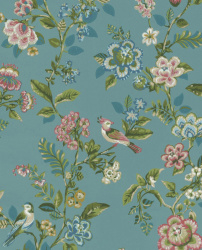 Eijffinger Pip Studio IIII behang 375062 Botanical Print Blue