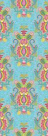 Behang Expresse Happy Living Wallprint Yogi Aqua TD4013
