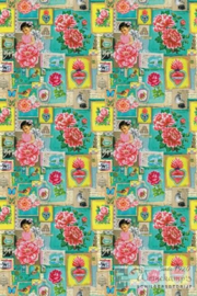 Eijffinger Pip Studio II wallpaper 313110 Pip Art Green