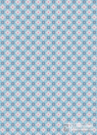 Eijffinger Pip Studio III behang 341021 Geometric Light Blue