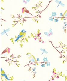 Eijffinger Pip Studio IIII behang 375080 Early Bird White