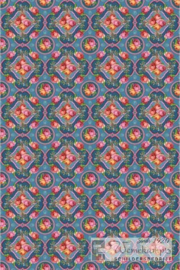Eijffinger Pip Studio II wallpower 313112 Singing Roses blue
