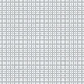Klavertje vier grijs behang 2260-13
