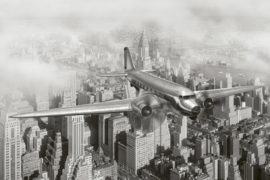 @Walls fotobehang vliegtuig 0006