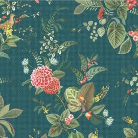 Eijffinger Pip Studio 5 behang 300116 Floris donker blauw