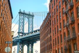 @Walls fotobehang Manhattan Bridge 0012