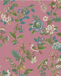Eijffinger Pip Studio IIII behang 375064 Botanical Print Bright Pink