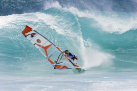 XXL wallpaper windsurfer on the sea 470334
