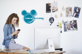 Disney it' s kind of fun sticker 14012h Komar