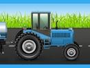 Tractor 3750037 Farm Life behangrand zelfklevend