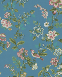 Eijffinger Pip Studio IIII behang 375066 Botanical Print Bright Blue