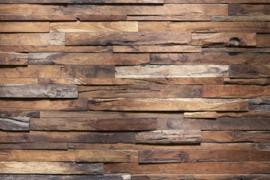@Walls fotobehang houten muur 0158