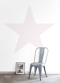 PhotowallXL star 158851 roze ster