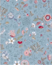 Eijffinger Pip Studio IIII behang 375005 Spring To Life Light Blue