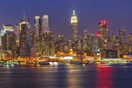 @Walls fotobehang Manhattan at night 0003