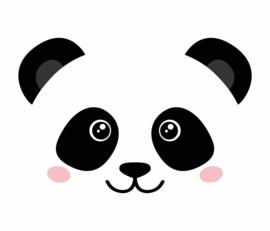 Fabs world 8002 A-B Panda poster behang