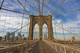@Walls fotobehang Brooklyn bridge 0005