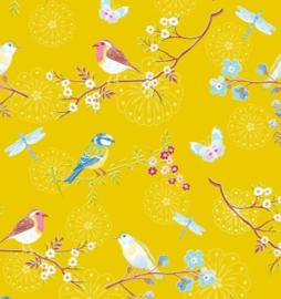 Eijffinger Pip Studio IIII behang 375083 Early Bird Yellow