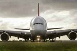 @Walls fotobehang Airbus vliegtuig 0318